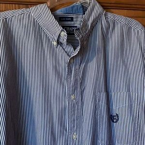 Chaps striped button down long sleeve!